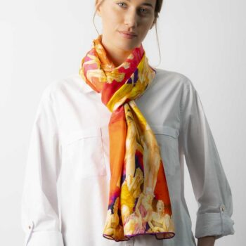 Scarf best silk scarves online Ireland Hazel Greene