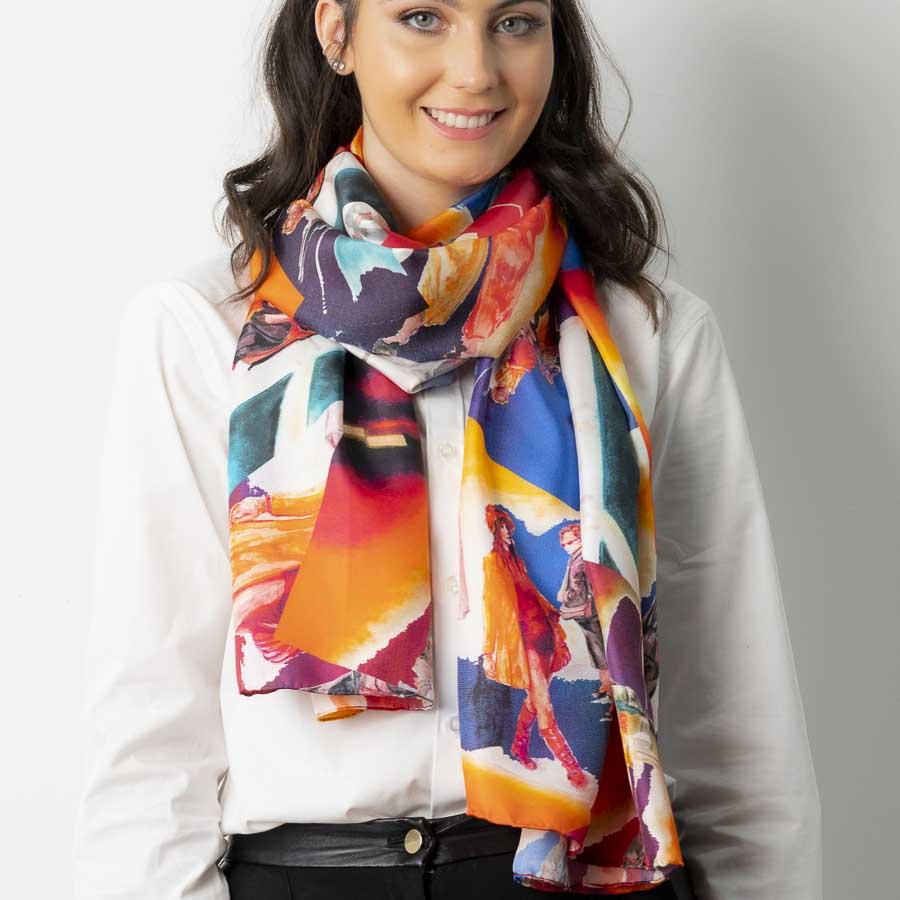 Scarf best silk scarves online Ireland Hazel Greene