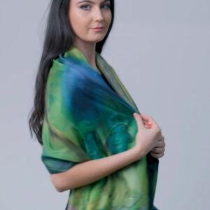 Hazel Greene Luxury Silk Scarf Ireland