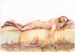 Watercolour painting Hazel Greene